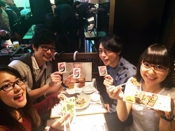 通りすがりのバディマスター キヨさん、爆役の森嶋さん、バル役の村中さん、ノボル役の橘田さん!